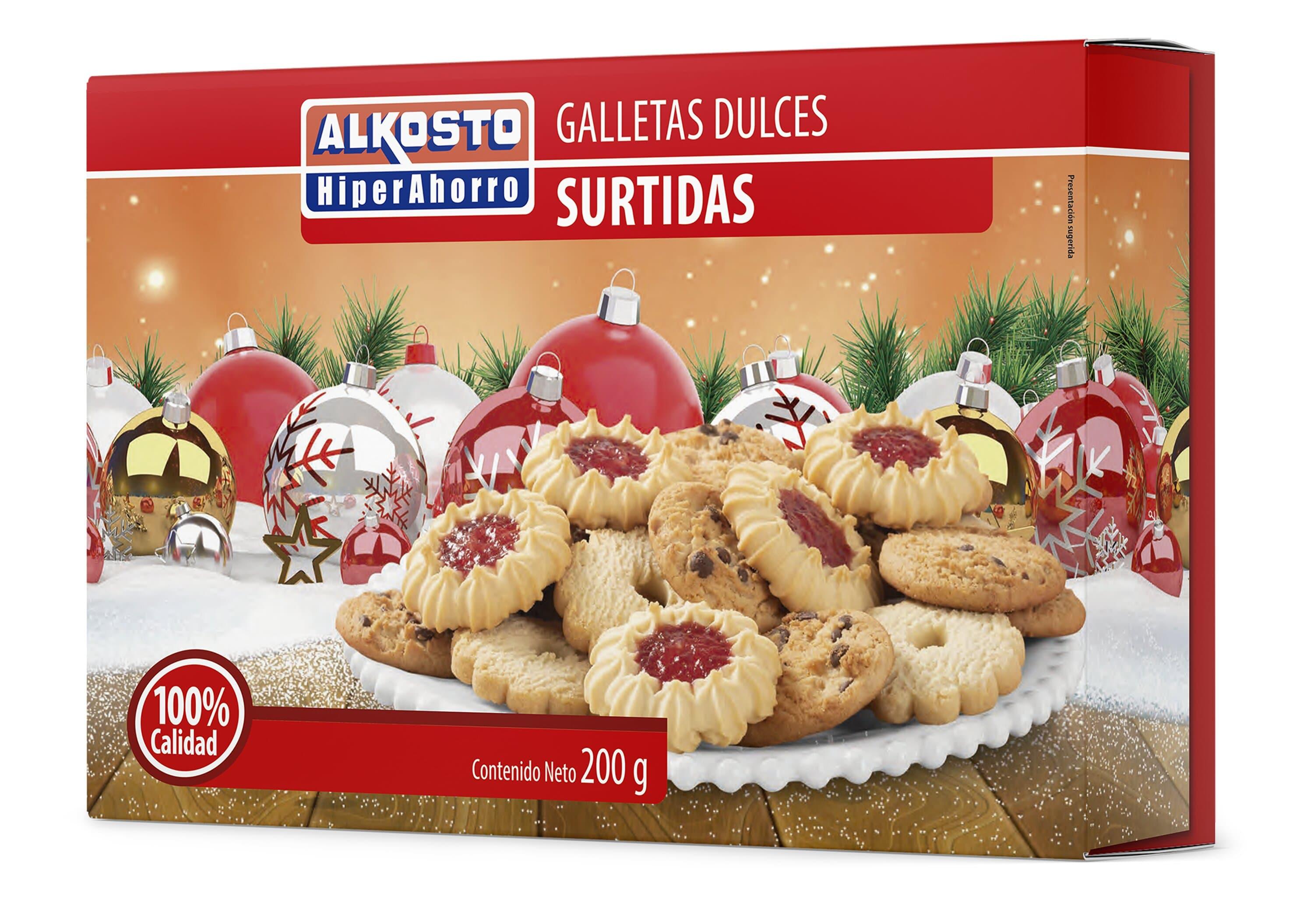Galleta Alkosto Navidad 200g