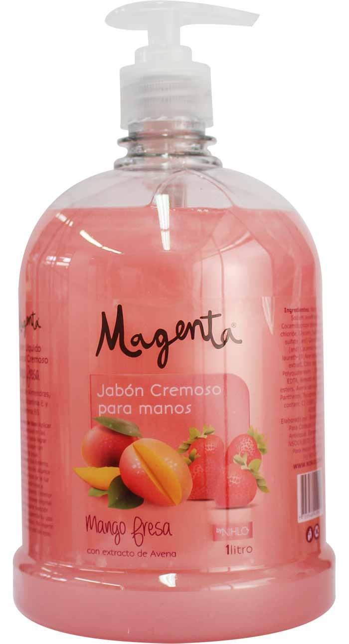 Jabón 1l Mango Fresa Magenta