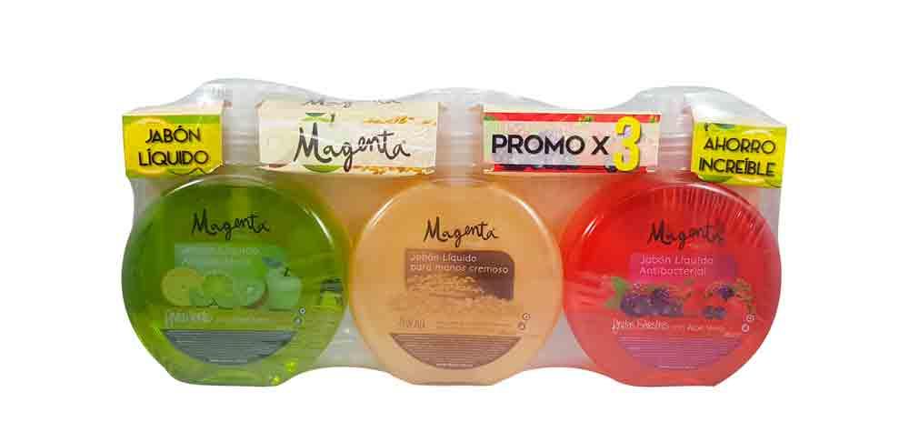 Jabon Liquido Magenta x3u 840ml pe