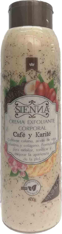Crema Exfoliante Sienna Café 600g