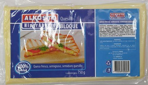 Quesillo Alkosto Bloque 750g