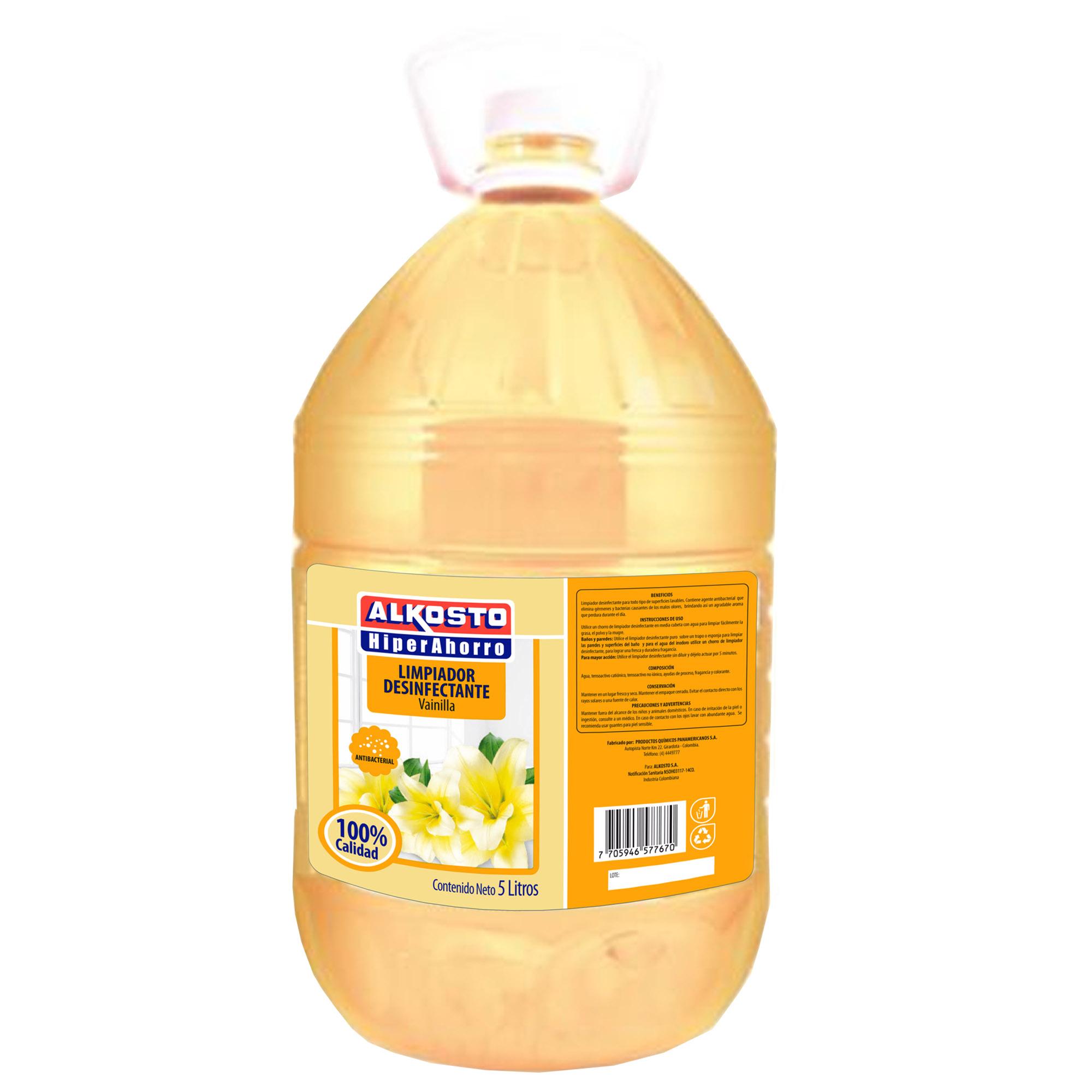 Limpiador Desinfectante Alkosto Vainilla 5l