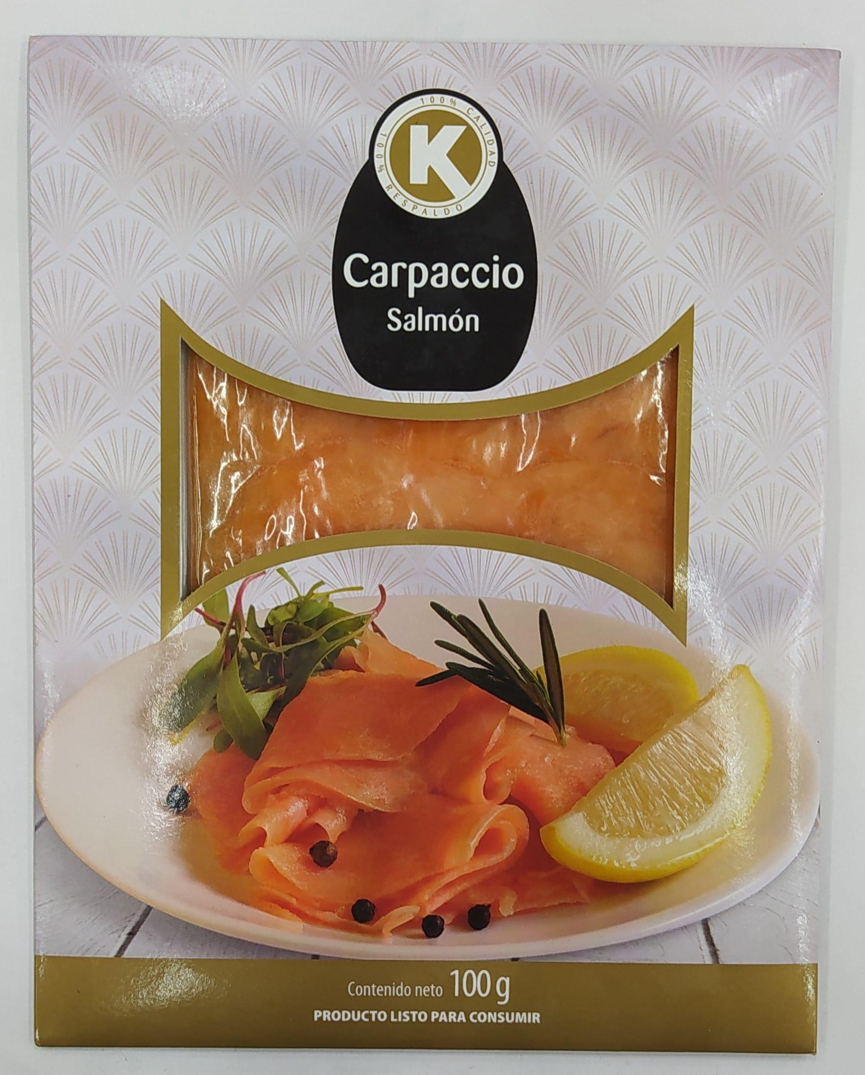 Carpaccio k de Salmon 100g