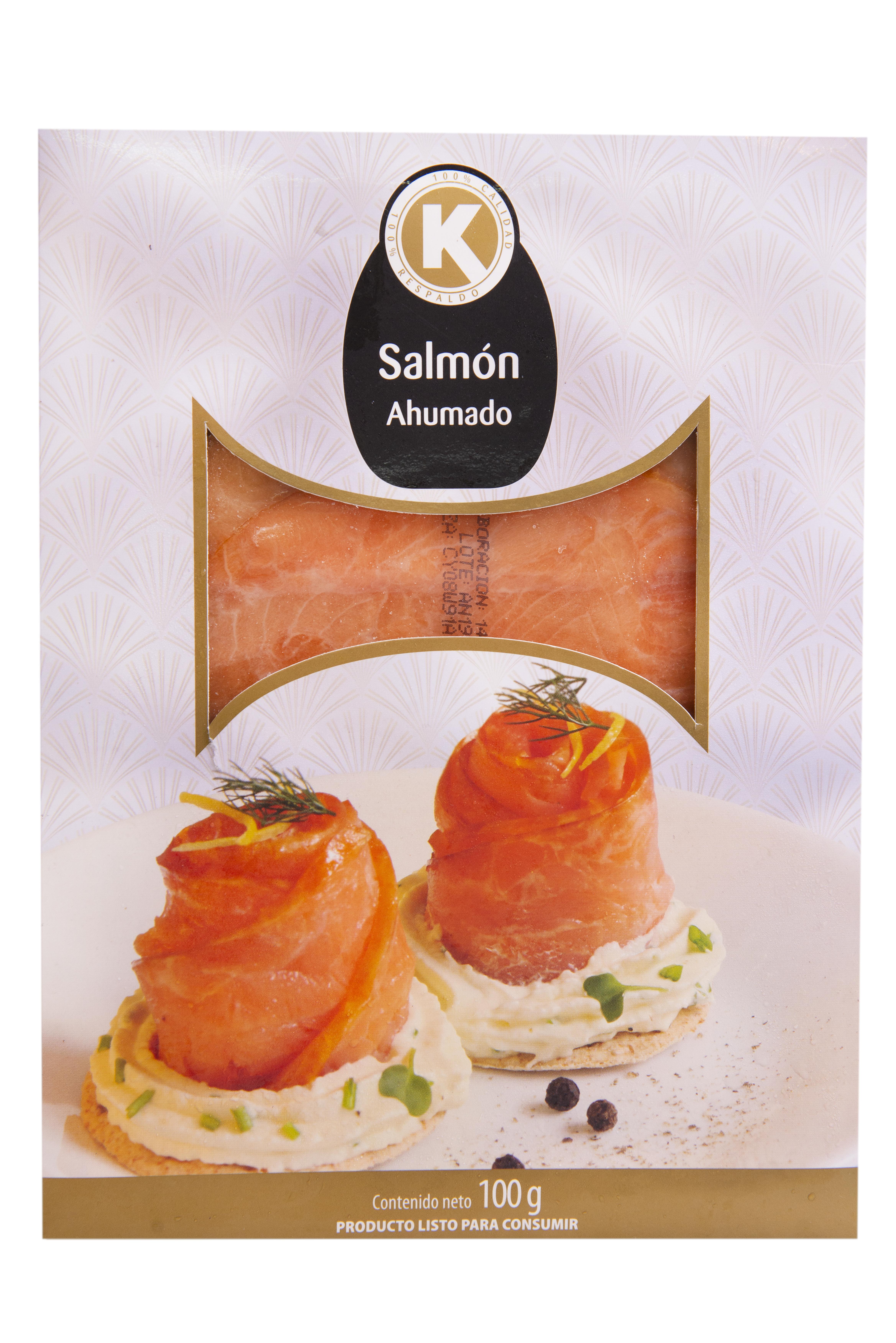 Salmon k Ahumado 100g