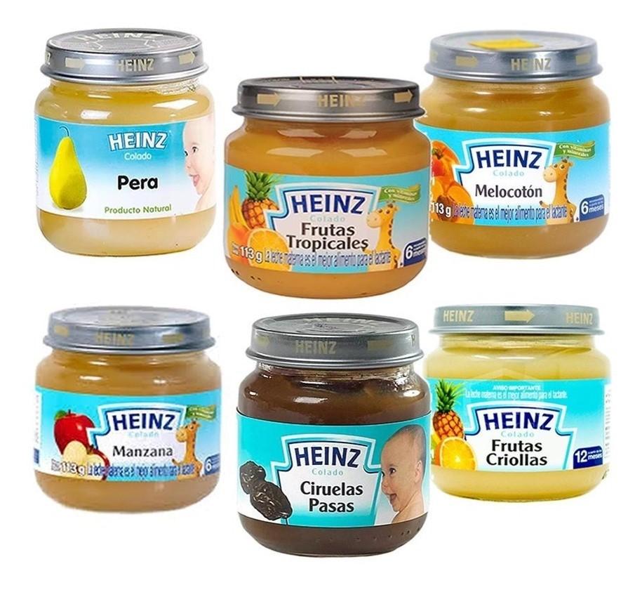 Compota Heinz Surtida 113g x6