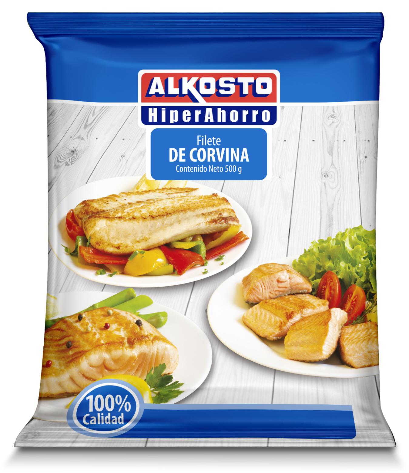 Filete de Corvina Alkosto 450g