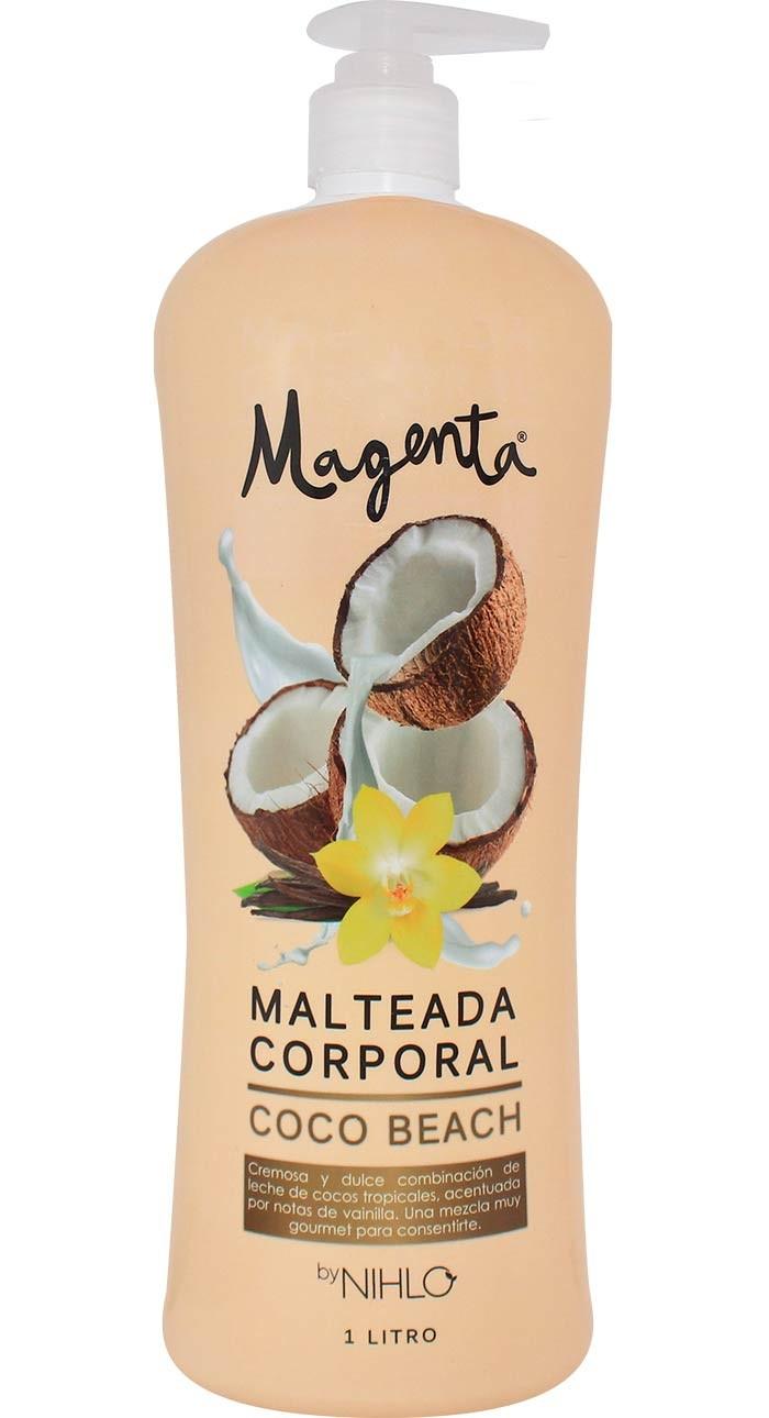 Malteada Corporal Magenta Coco Beach 1l