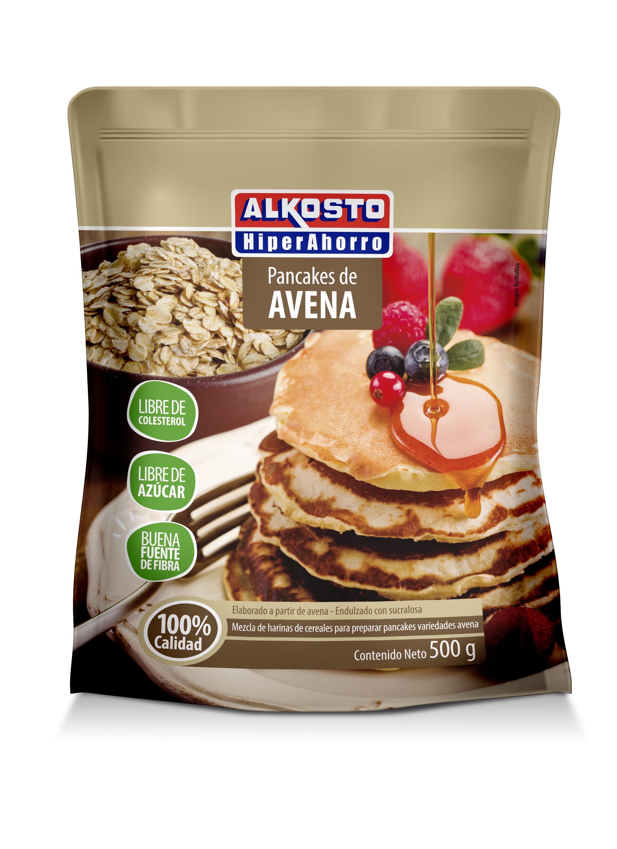 Mezcla Pancakes Alkosto Avena 500g