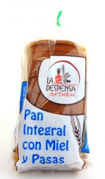 pan la Despensa Miel Pasas 450g