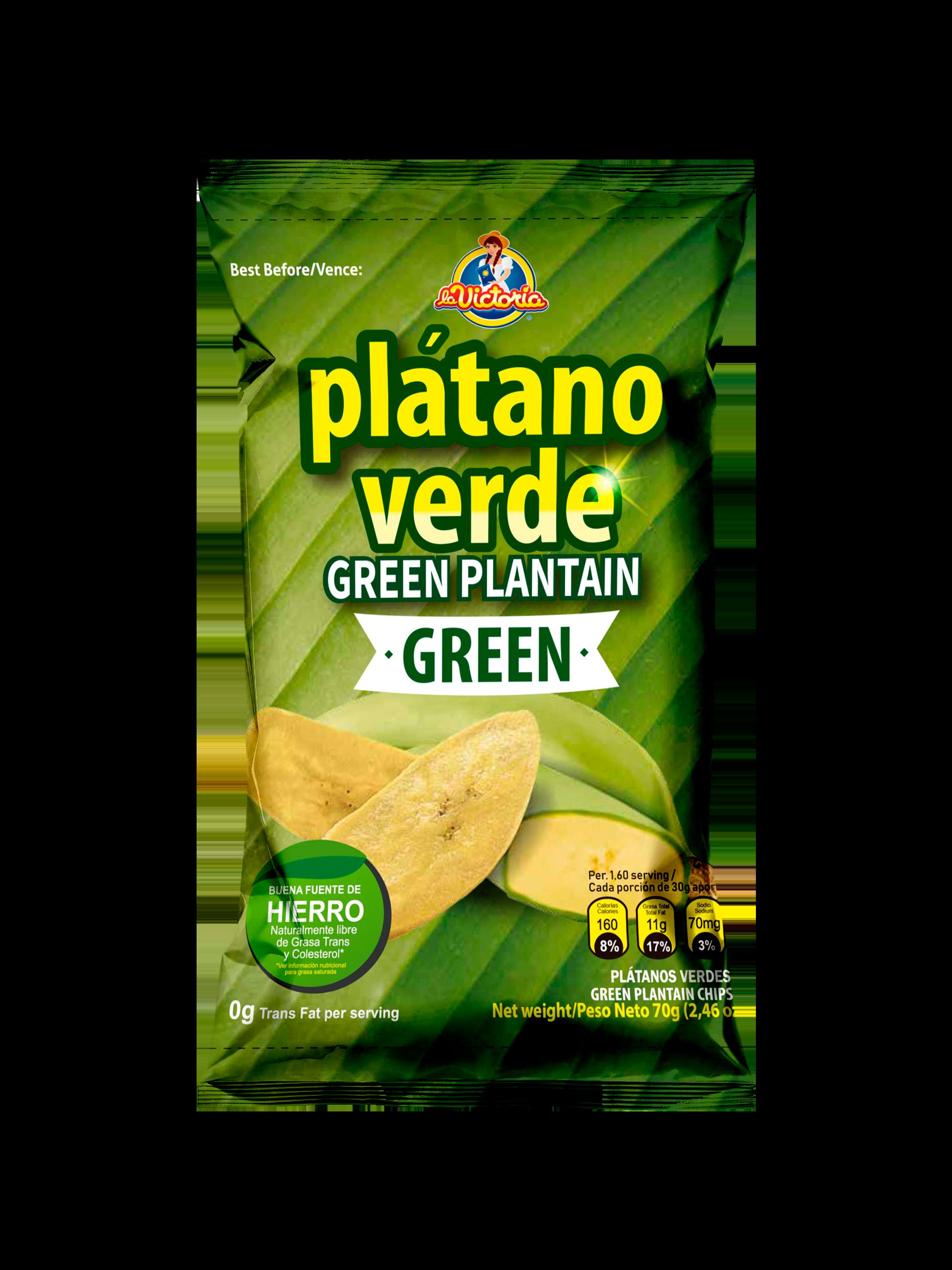 Platano la Victoria Verde 140g