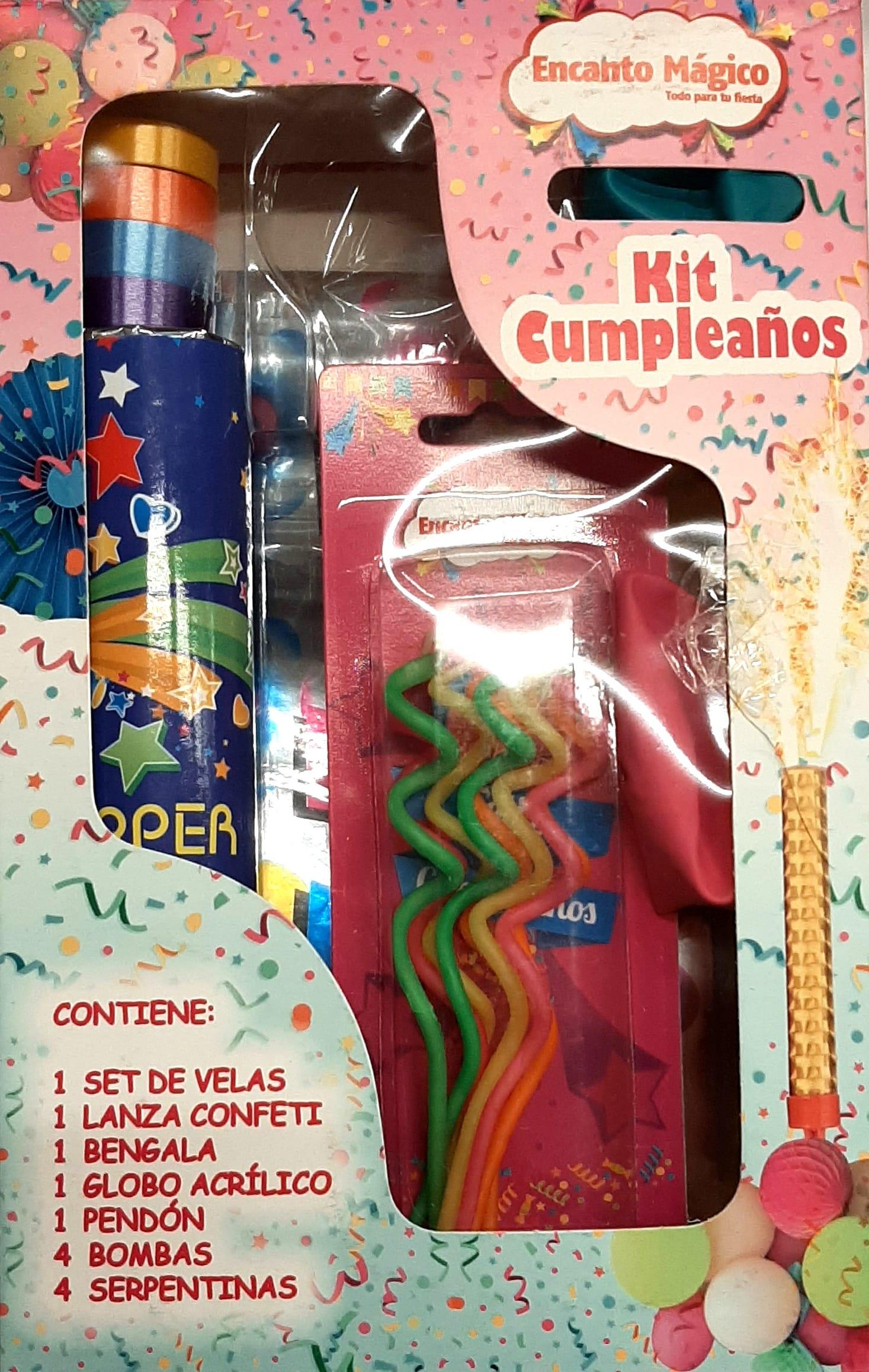 kit Cumpleaños Encanto Magico