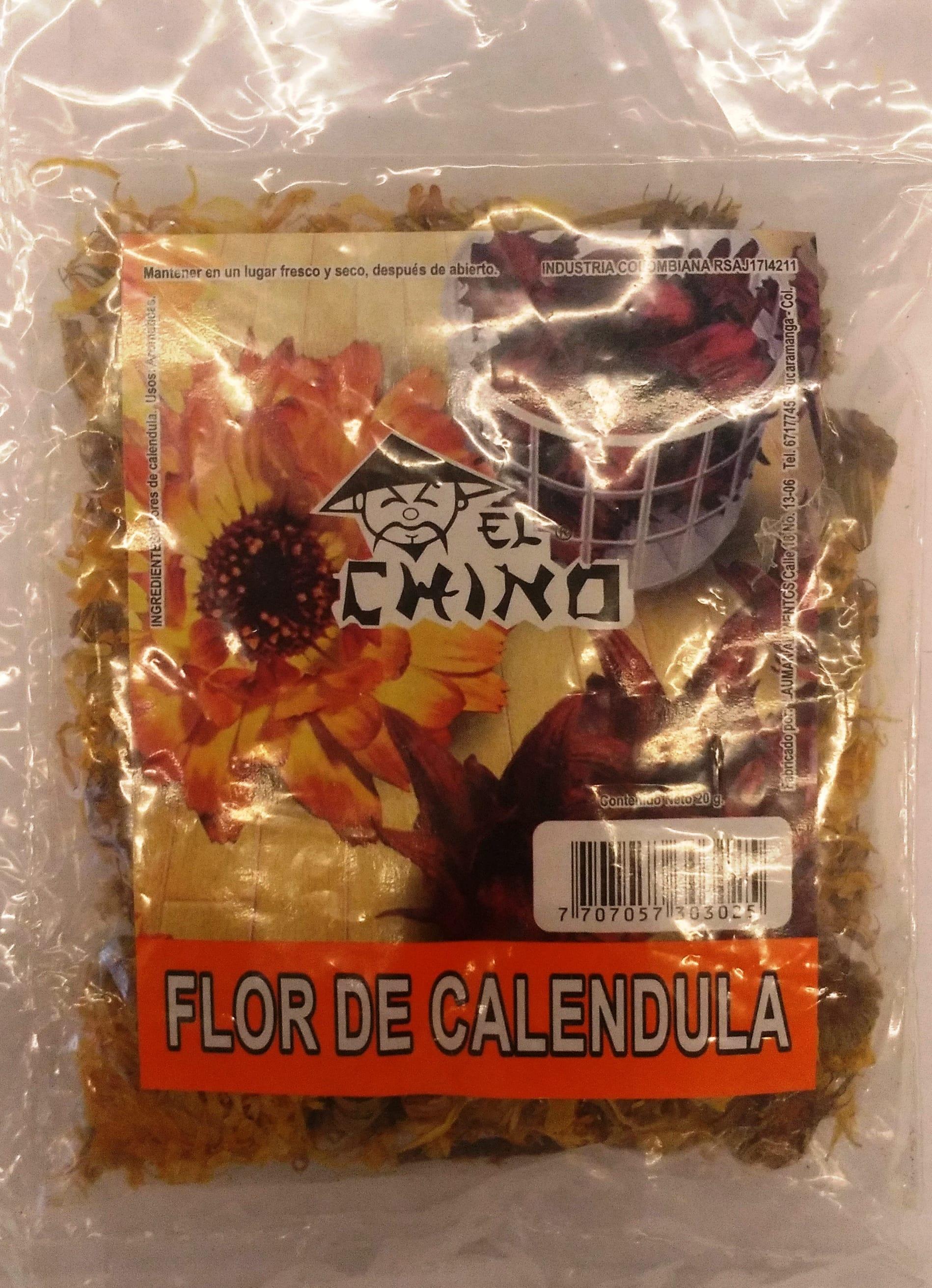 Flor de Calendula el Chino 20g
