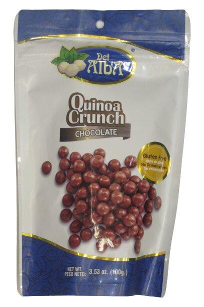 Quinua Crunch Chocolate del Alba 100g