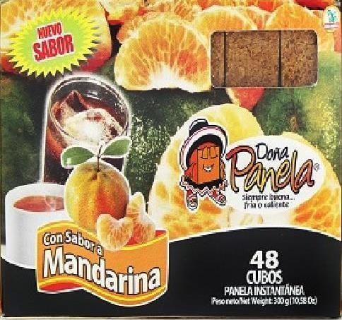 Panela Doña Panela Mandarina 300g