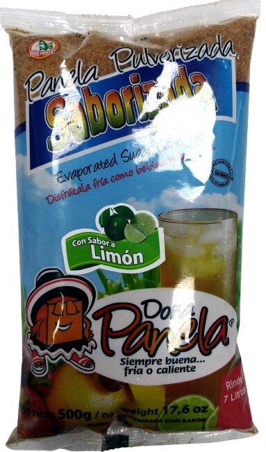 Panela Pulverizada Doña Panela Limón 500g