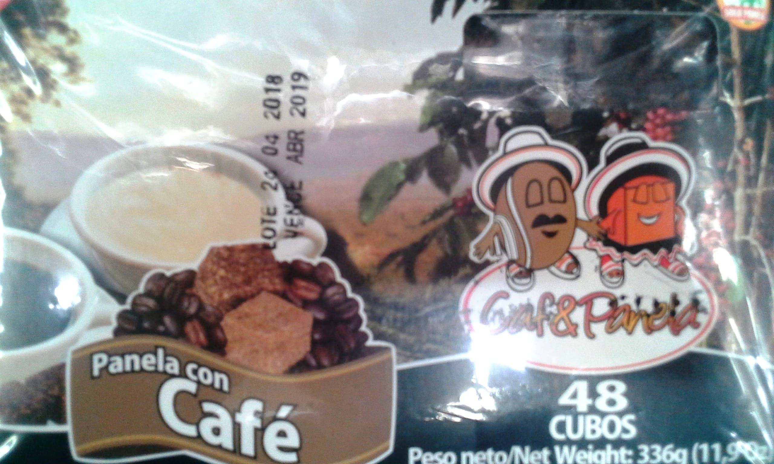 Panela con Café & Panela x48 336g