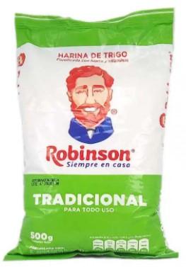 Harina Trigo Robinson Tradicional 500g