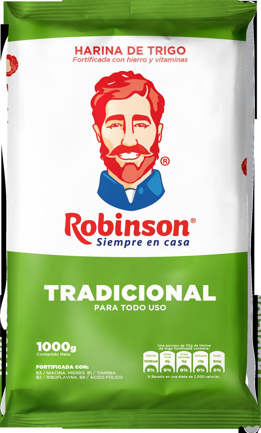 Harina de Trigo Robinson Tradicional 1k