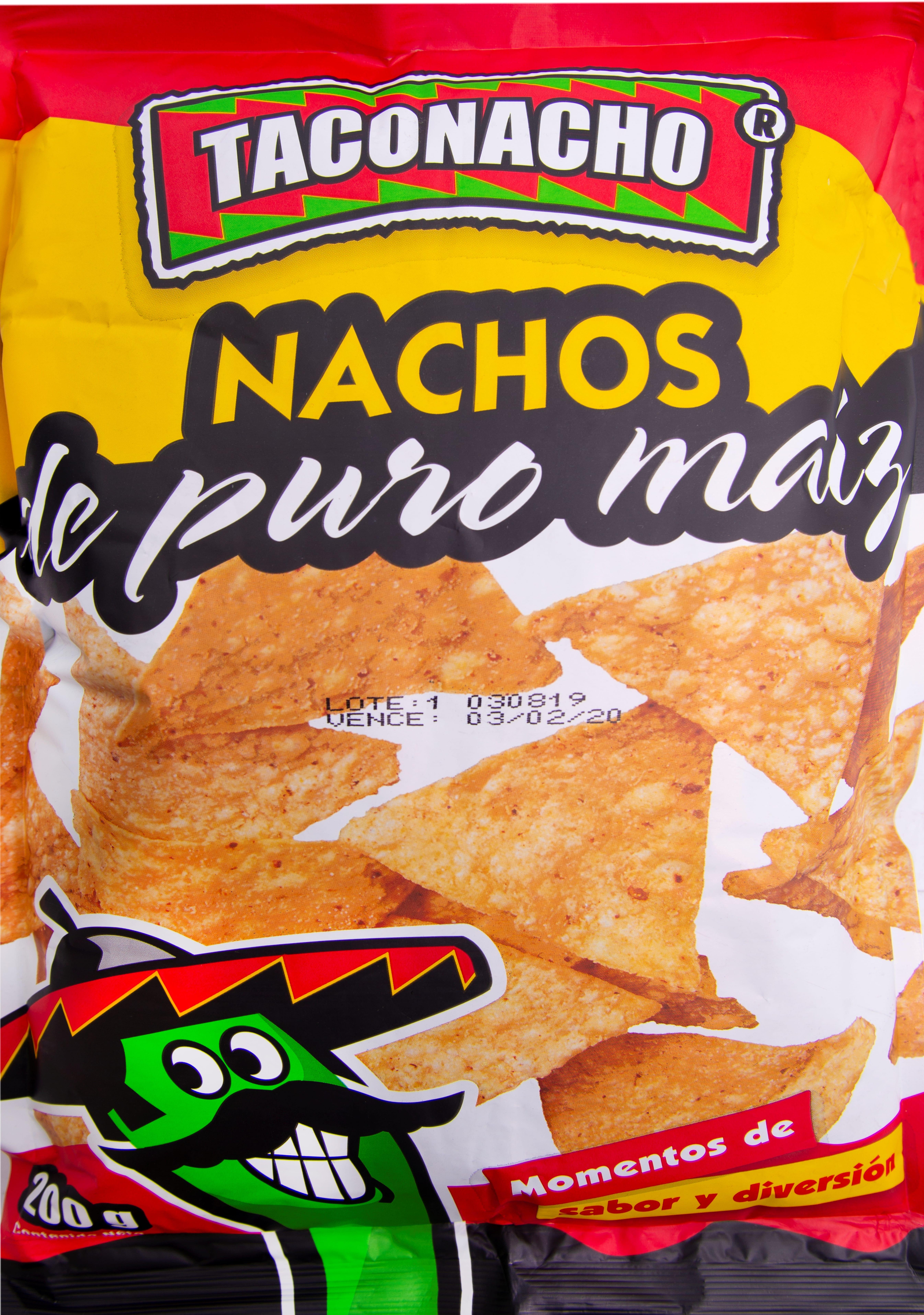 Nachos Taconacho Maiz 200g