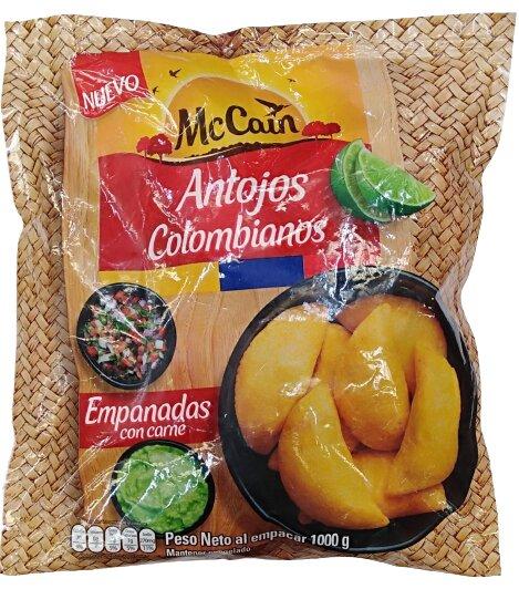 Empanadas Mccain Carne X26u 1kg
