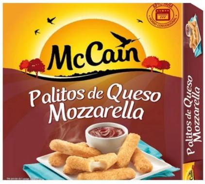Palitos Queso Mccain Mozzarella 236g
