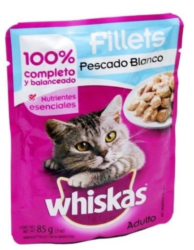 Alimento Humedo Whiskas Surtido 85g p3 ll4