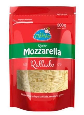 Queso la Florida Mozzarella Rallado 300g