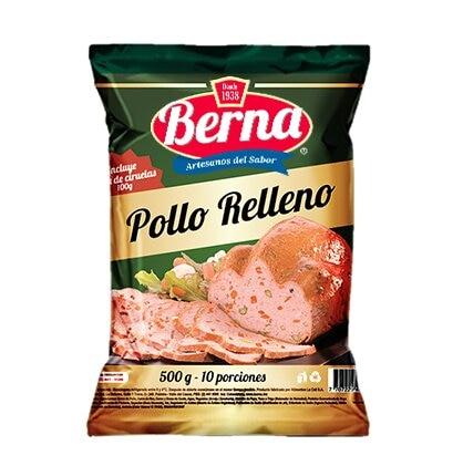 Pollo Berna Relleno Tajado 500g