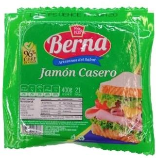 Jamón Casero Berna 400g