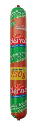 Salchichón Cervecero Berna 750g