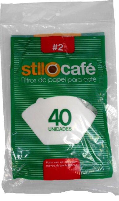 Filtro Stilocafe n 2 x 40 und