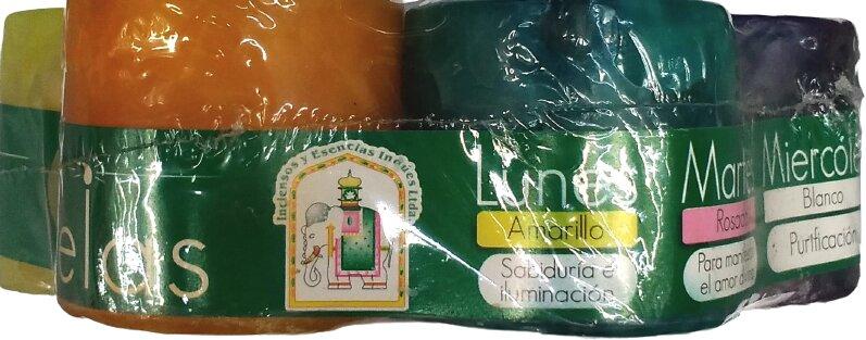 kit Semanario de Velas