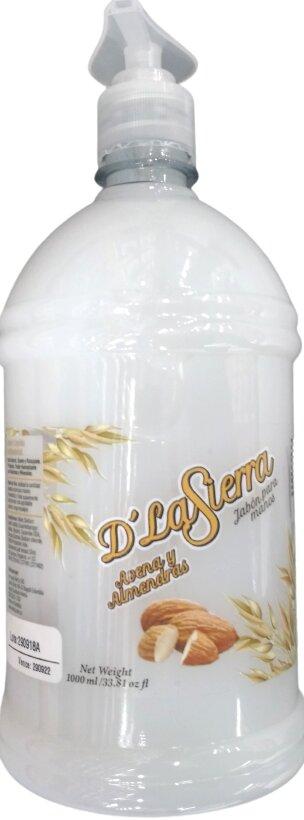 Jabón Liquido d la Sierra Avena y Almendras 1l