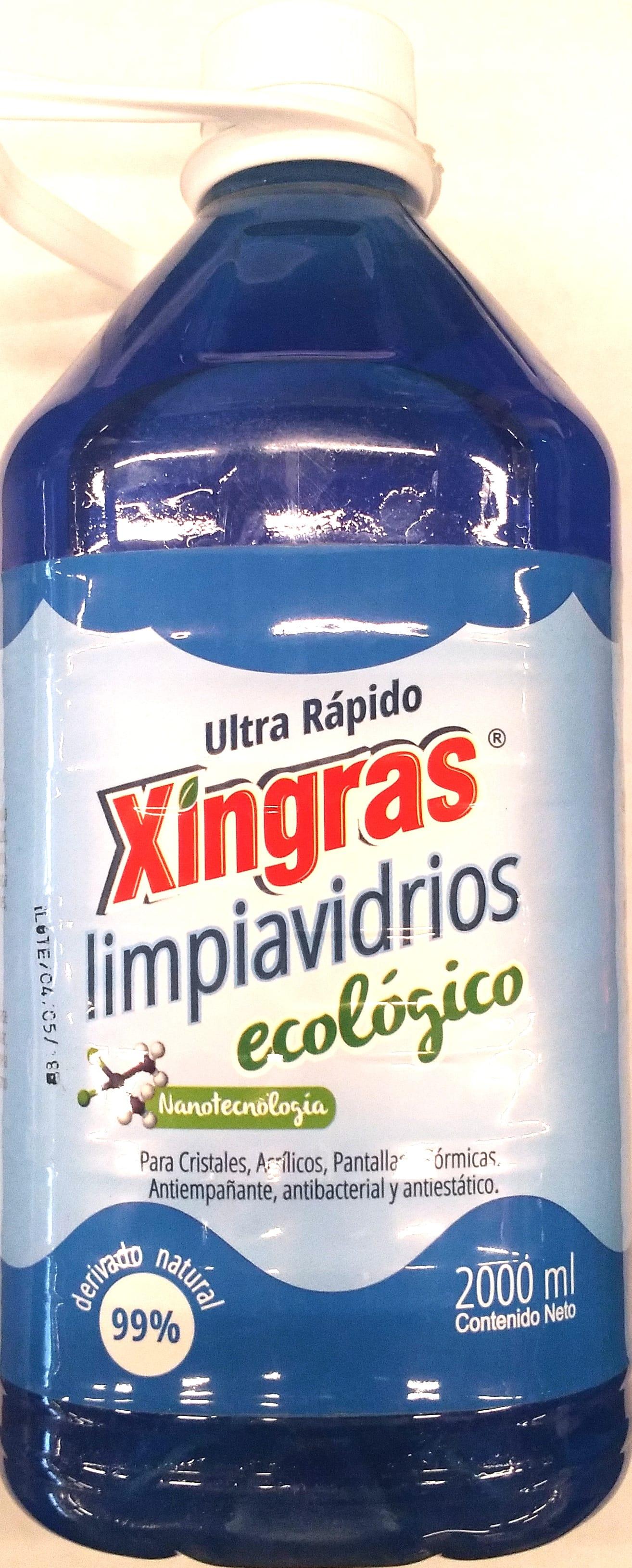 Limpia Vidrios Xingras 2000ml