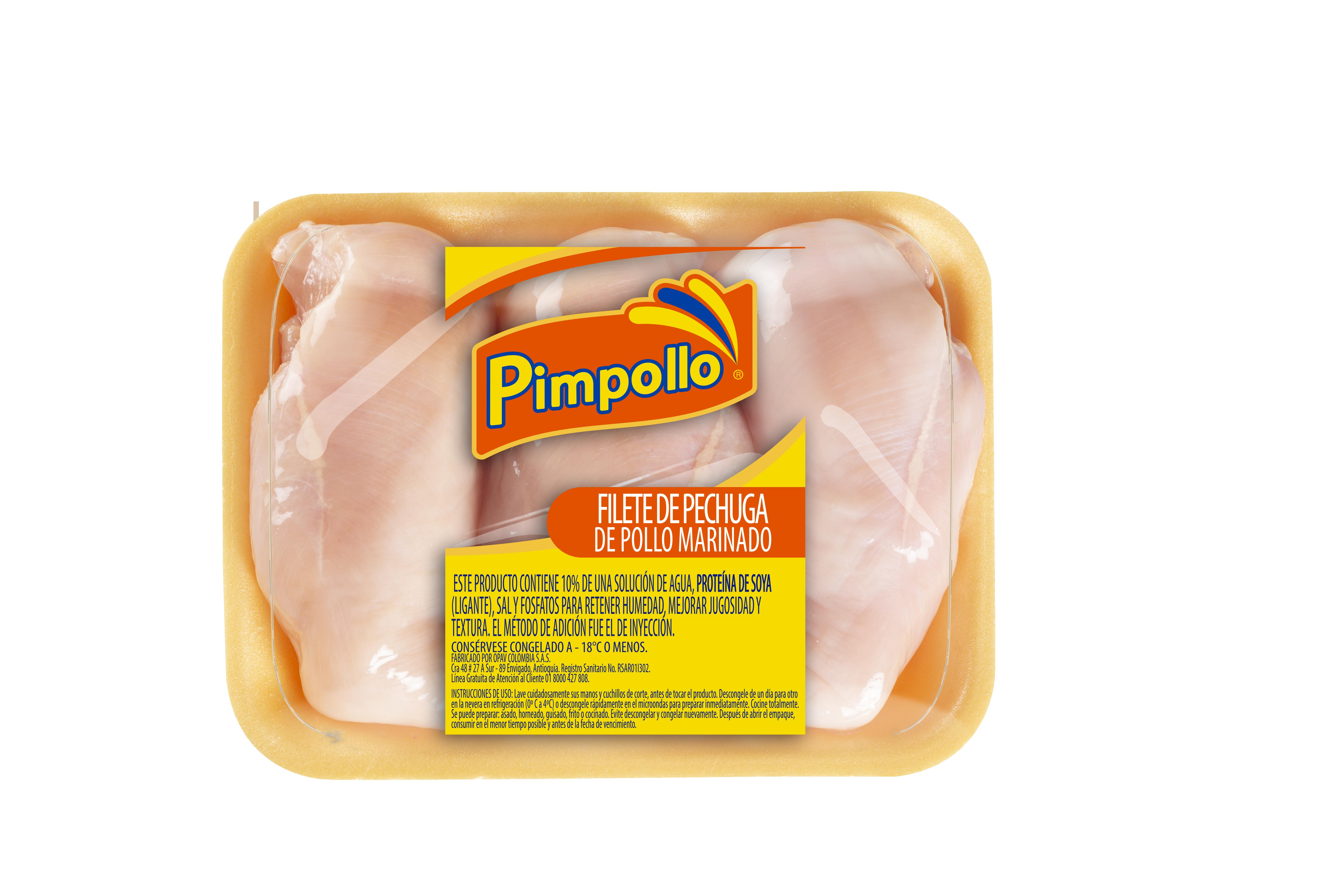 Filete de Pechuga Pimpollo x 500g