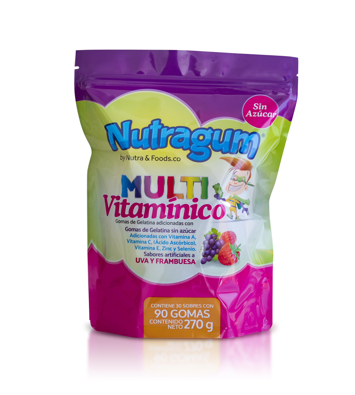 Multivitamico Gomas Nutragum 30 Sobres