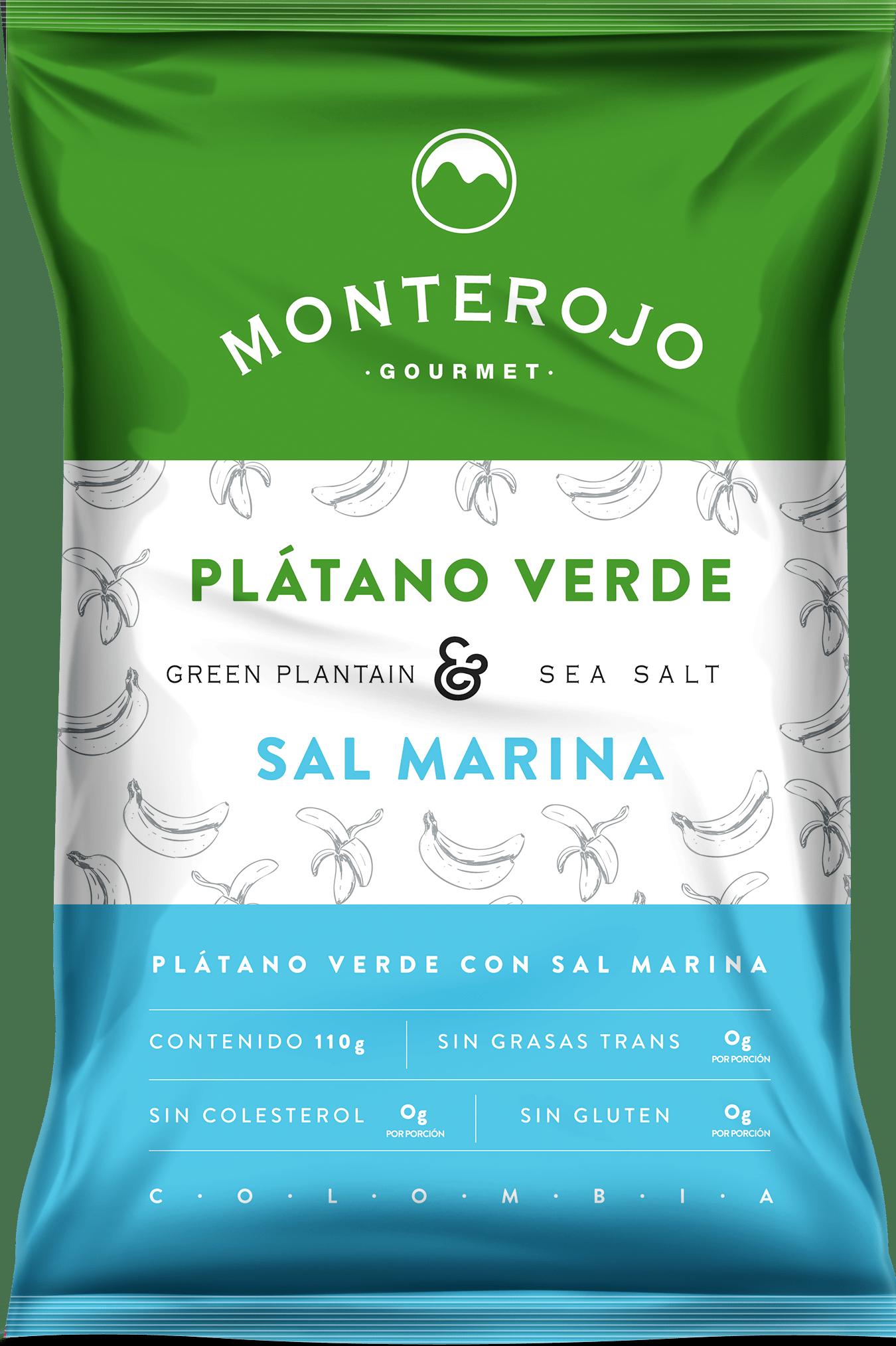 Platano Verde Monterjo sal Marina 110g