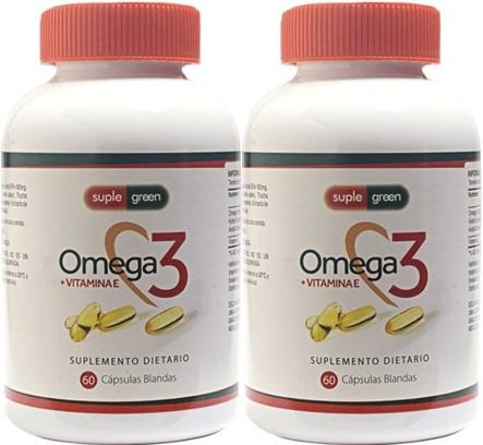 Omega 3 Vitamina e Suple Green 60ux2 pe