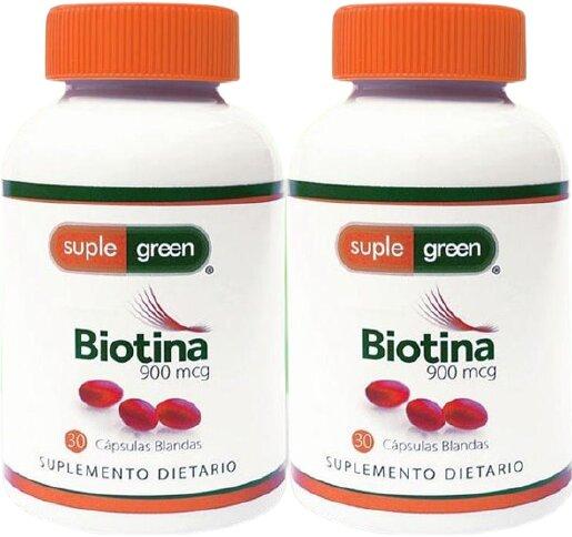 Biotina Suple Green 60u x2 pe