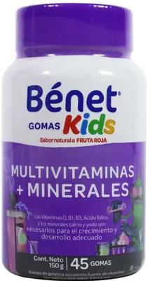Gomas Kids Benet Multivitaminas y Minerales 150g