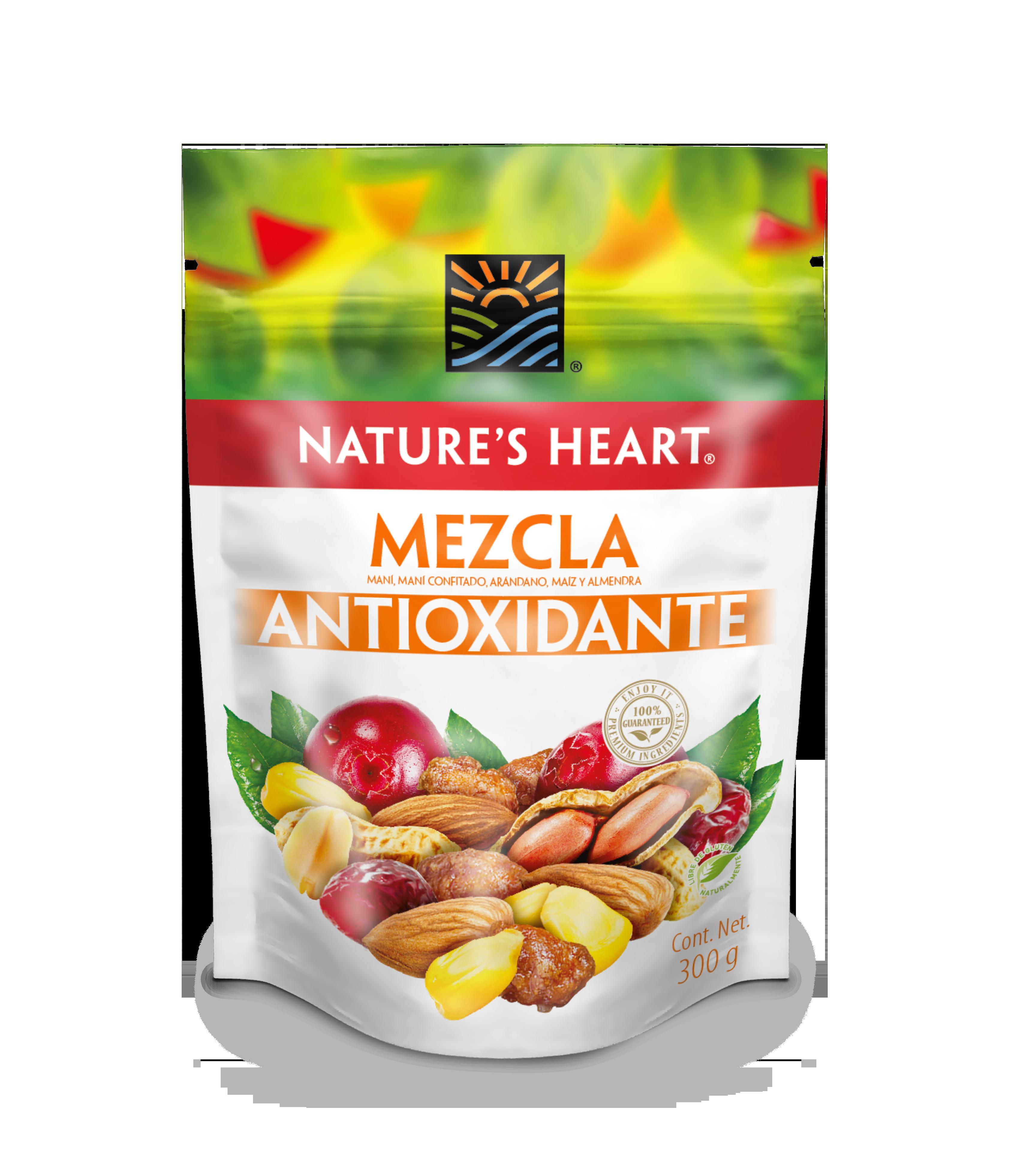 Mani Mezcla Nature Heart Antioxidante 300g