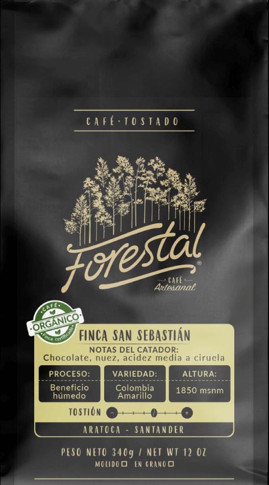 Cafe Forestal Organico 340g