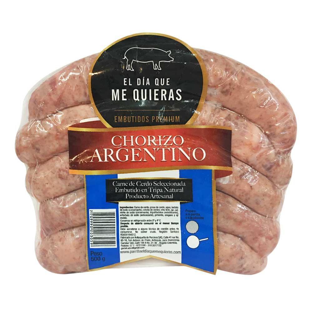Chorizo Argentino el día que me Quieras x 5und 500g