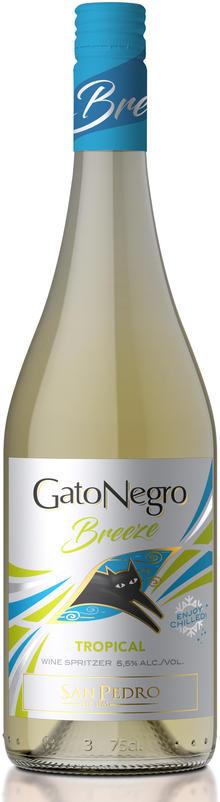 Coctel Gato Negro Tropical 750ml