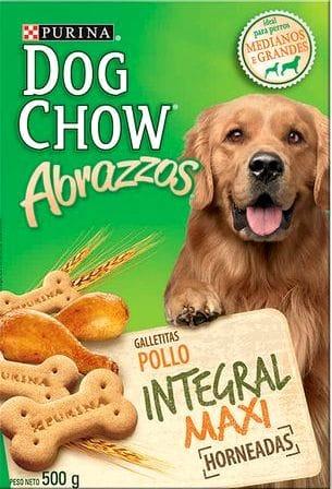 Galletas dog Chow Abrazzos Maxi 500g