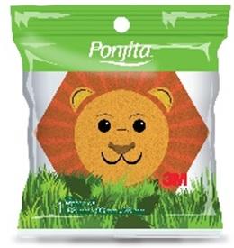 Esponja Ponjita Kids Animales