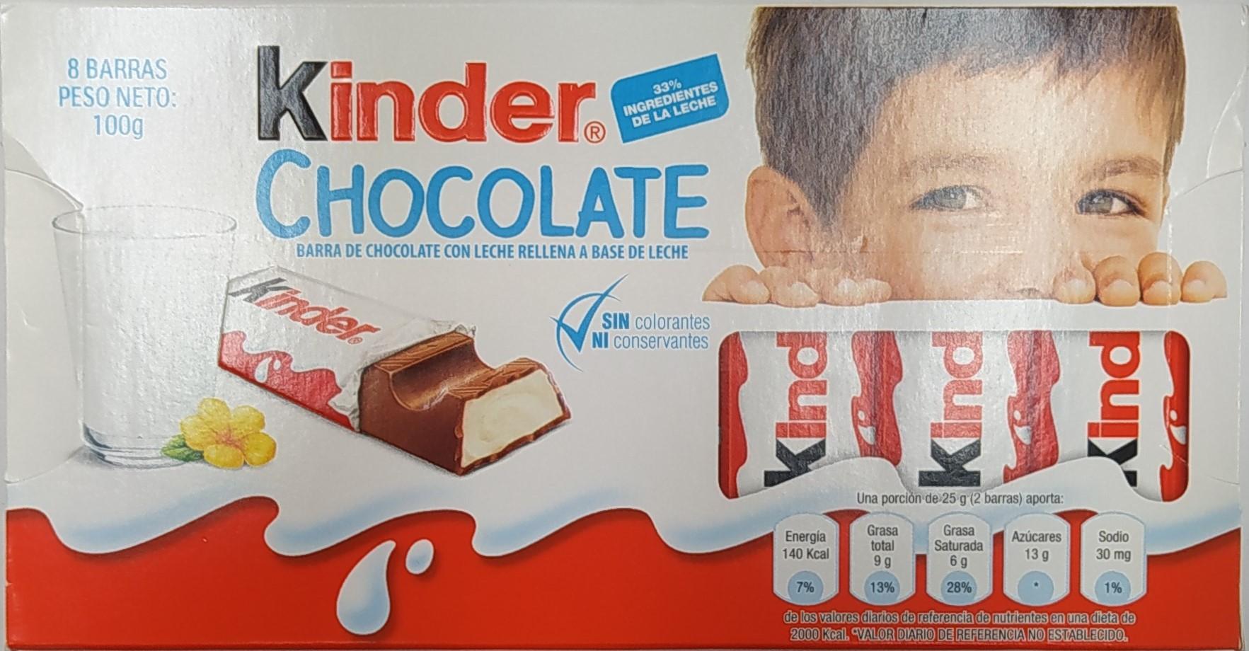Chocolate Kinder 12 5g x8