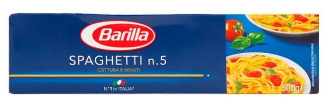 Pasta Spaghetti Barilla 500g
