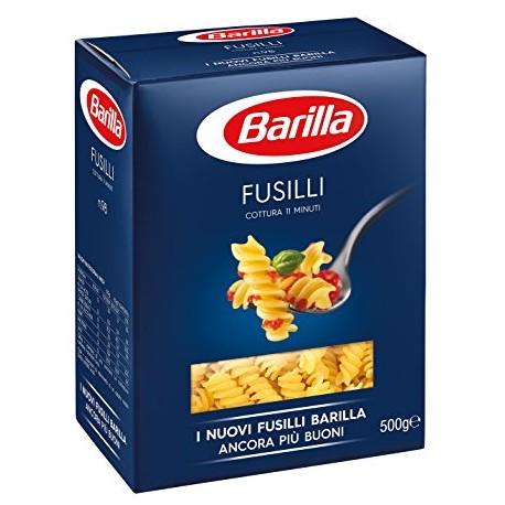 Pasta Fusilli Barilla 500g