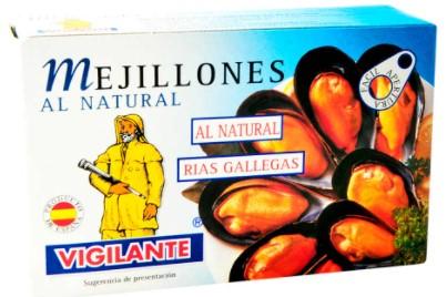 Mejillones Vigilante Natural 115g